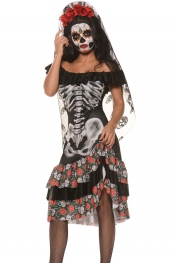 Queen of the Dead Halloween Party Cosplay Costume