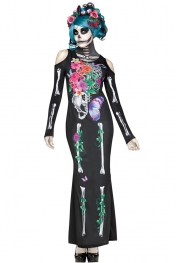Halloween Cosplay Beautiful Bones Dress Costume